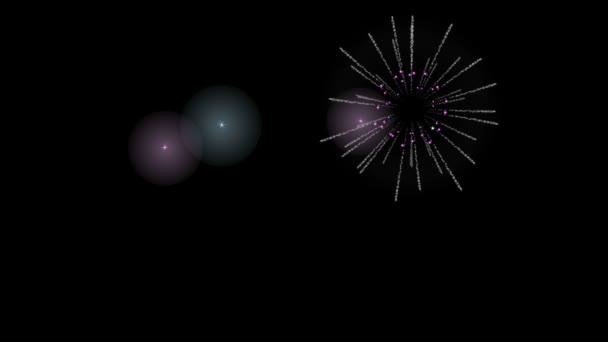 Fuegos Artificiales Animados Videos De Stock C Lakalla 53579969