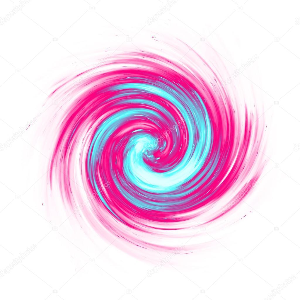 remolino de color rosa y turquesa — Foto de stock © magann #121891044
