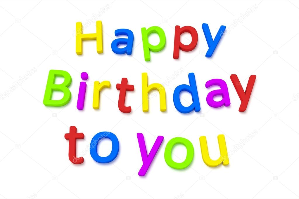 verjaardag gefeliciteerd Hartelijk gefeliciteerd met je verjaardag — Stockfoto © magann  verjaardag gefeliciteerd