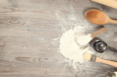 Baking tools with copy space