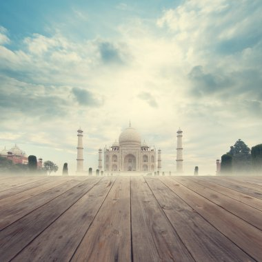 Taj Mahal India Sunrise