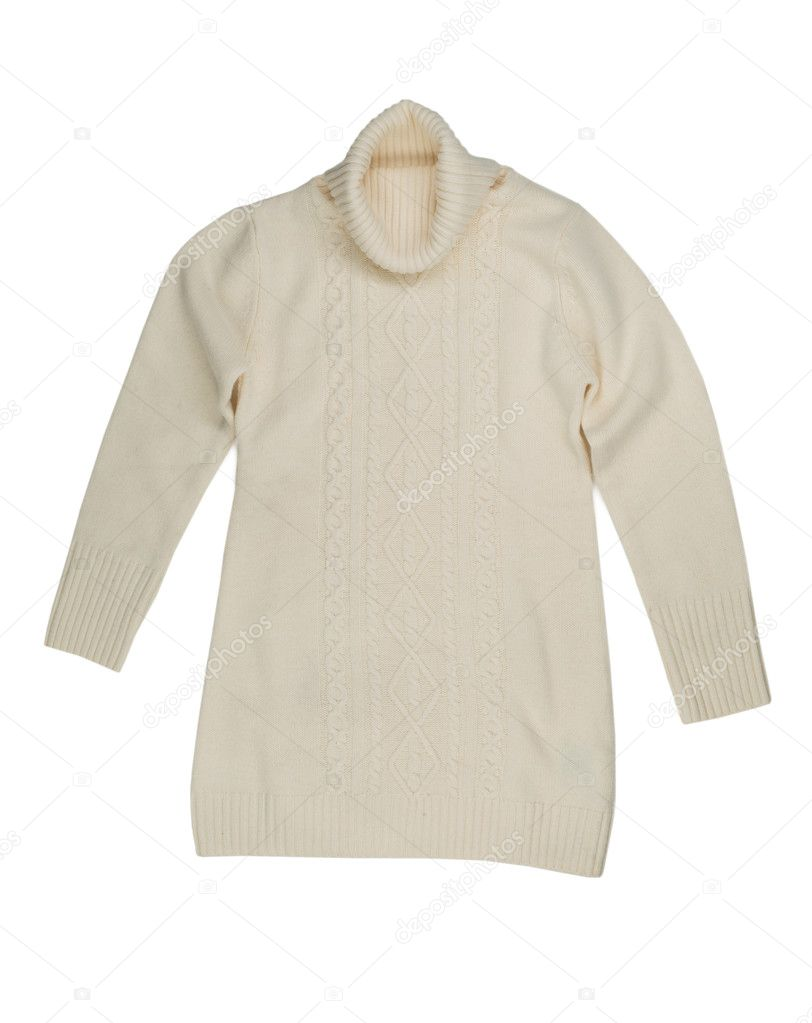 e06a31382389 Ελαφρύ πλεκτό πουλόβερ — Φωτογραφία Αρχείου © Ruslan  108944118