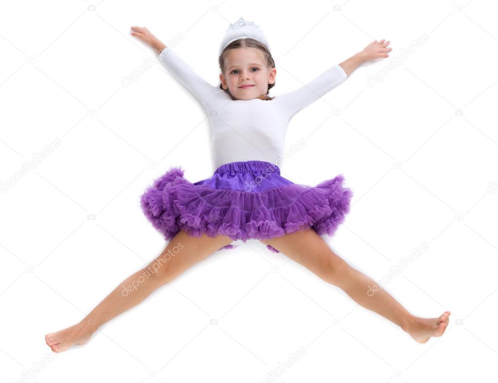little girl ballerina stock photo ruslan 53744205