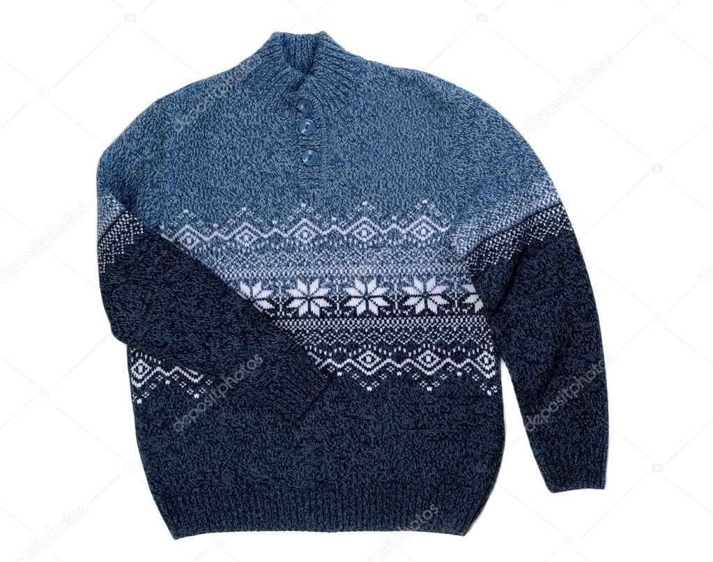 d04ce4d83c06 Πλεκτά πουλόβερ με νιφάδα χιονιού — Φωτογραφία Αρχείου © Ruslan ...
