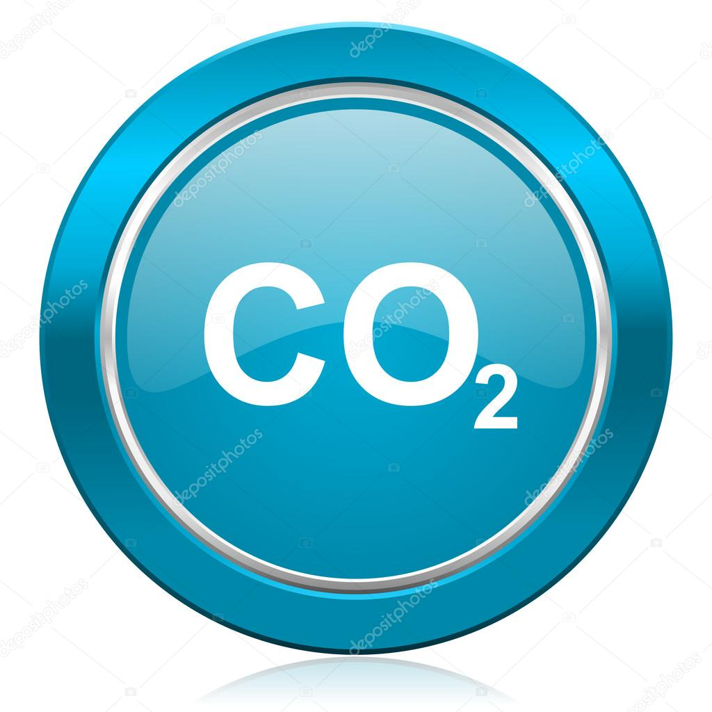 Carbon dioxide blue icon co2 sign stock photo alexwhite 62937145 carbon dioxide blue icon co2 sig photo by alexwhite buycottarizona Images