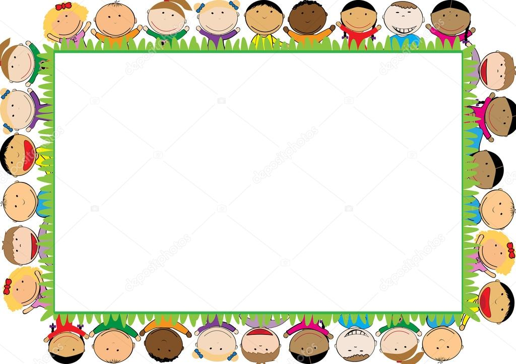 farbige rahmen für kinder — Stockvektor © justaa #118059432