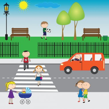 Kids on the street