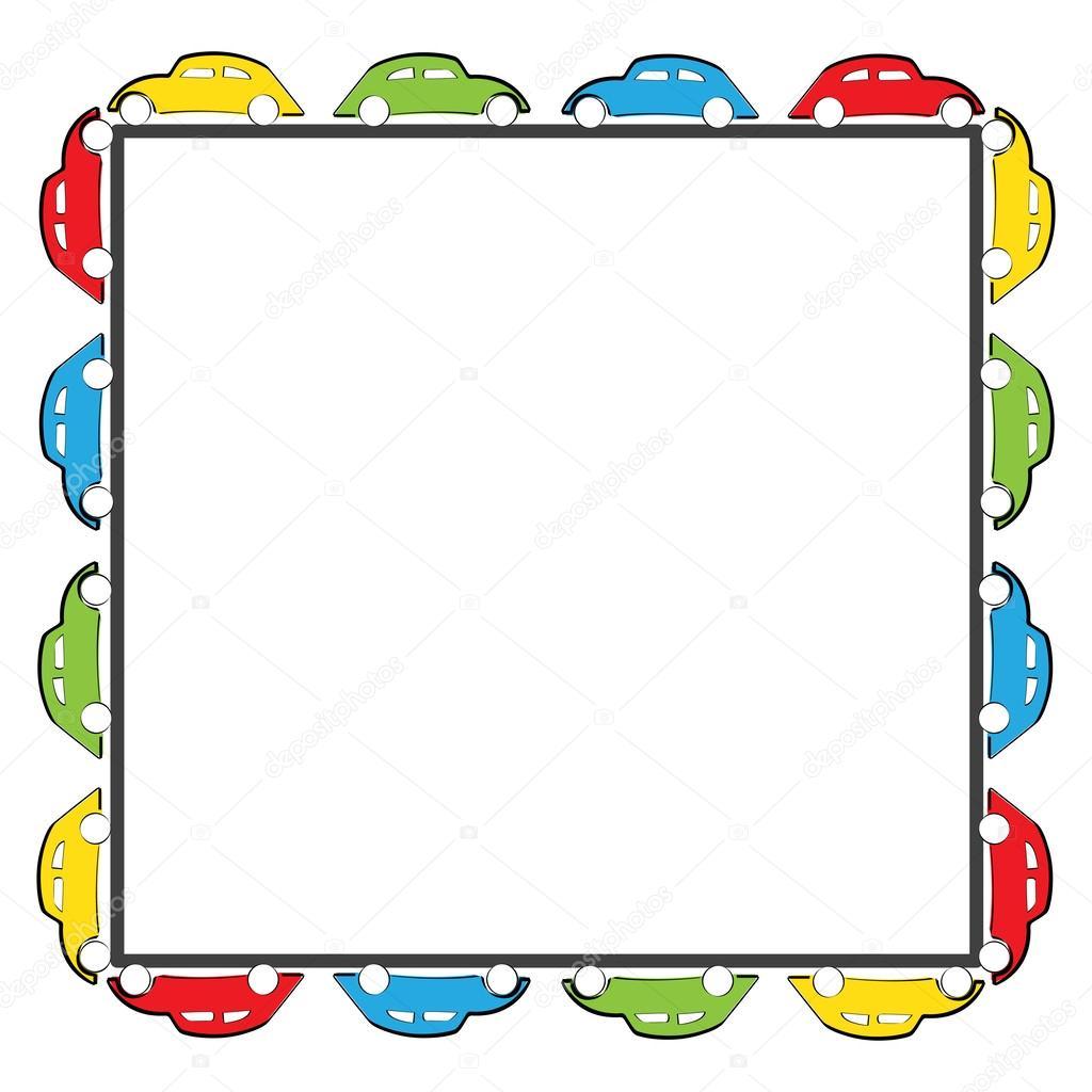 Auto-Rahmen — Stockvektor © justaa #63058755