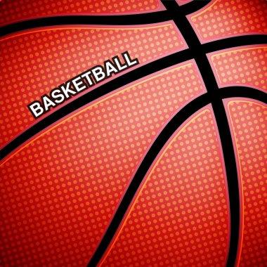 Basketball ball background