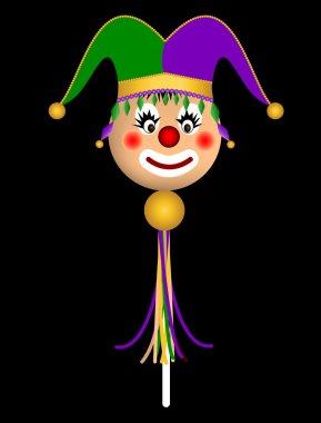 Court jester doll