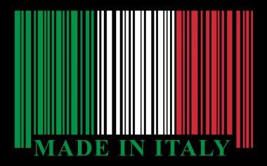 Italian barcode flag