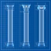 klassische Kolumnen-Skizze