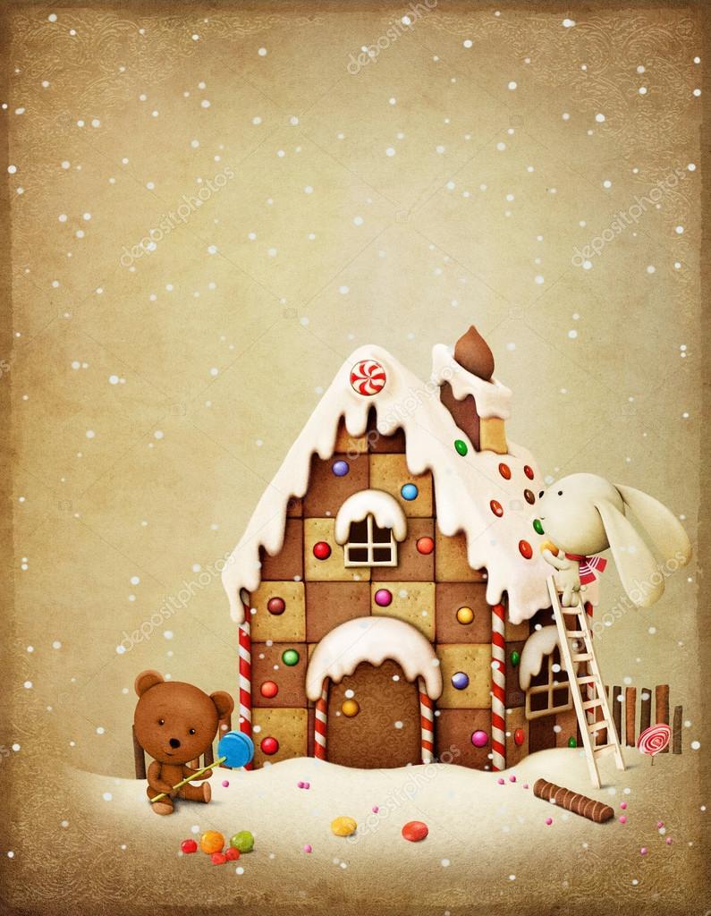 Christmas Adventure Bunny and Bear.