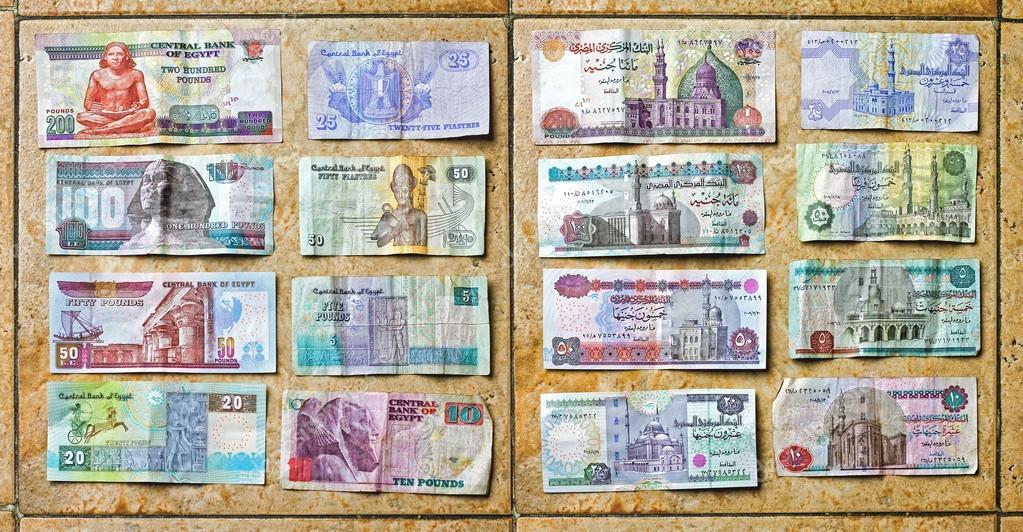 Egyptian Pound Money Stock Editorial Photo Baloncici 106127886