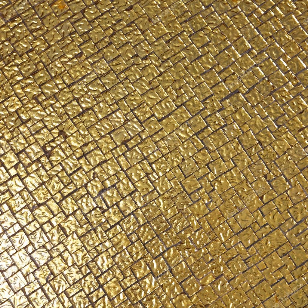 Goldene Fliesen Hintergrund — Stockfoto © Baloncici