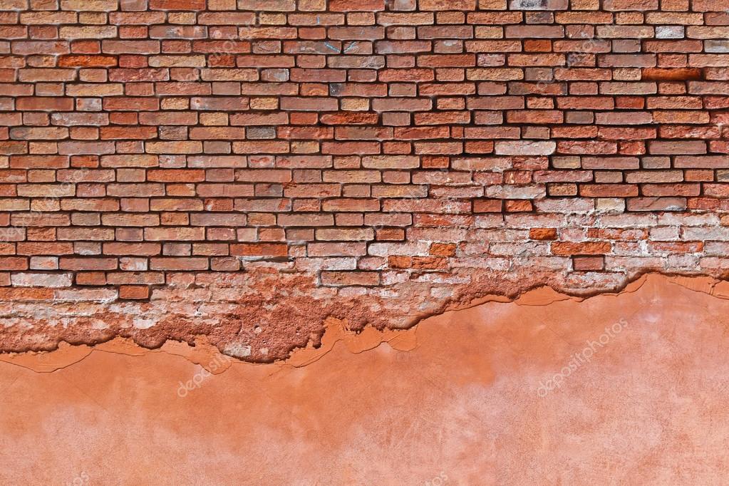 Derelict Brick Wall