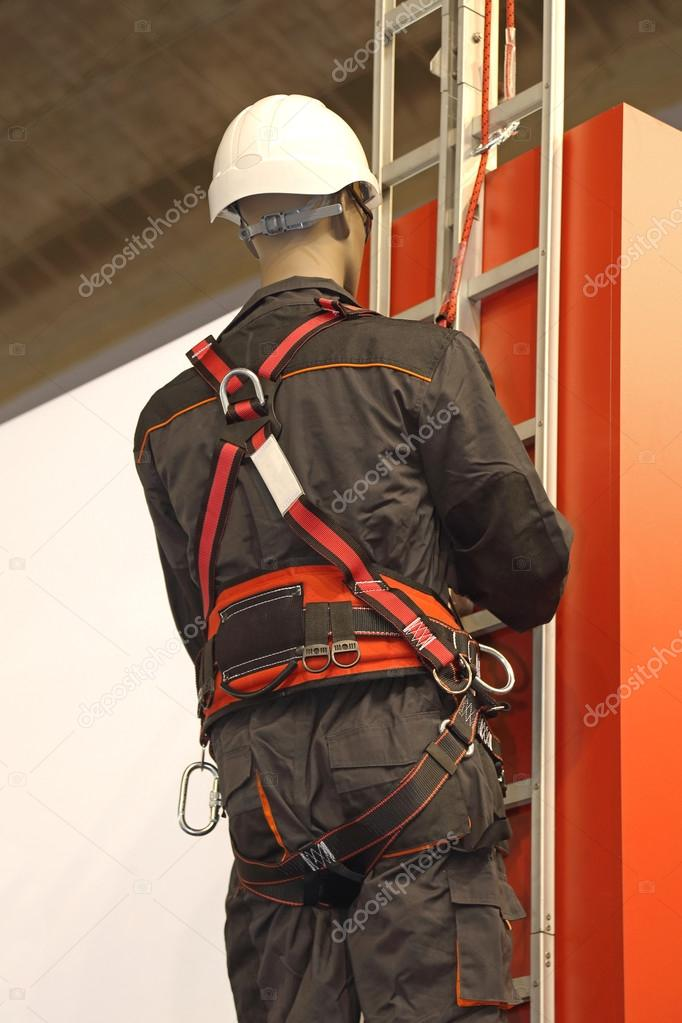 Fall Protection Safety Harness — Stock Photo © Baloncici