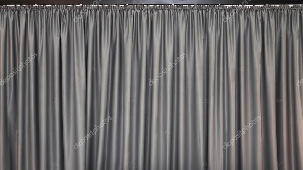Grijze gordijnen achtergrond — Stockfoto © Baloncici #99559162