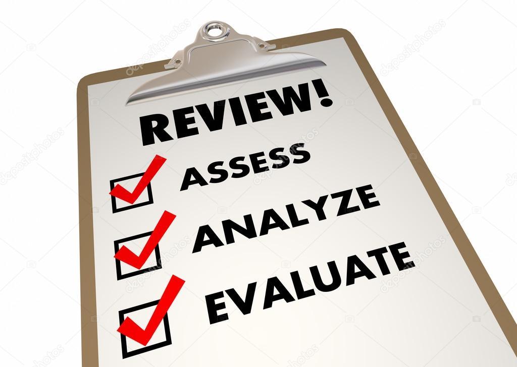Überprüfung-Zwischenablage-Checkliste — Stockfoto © iqoncept #110555348