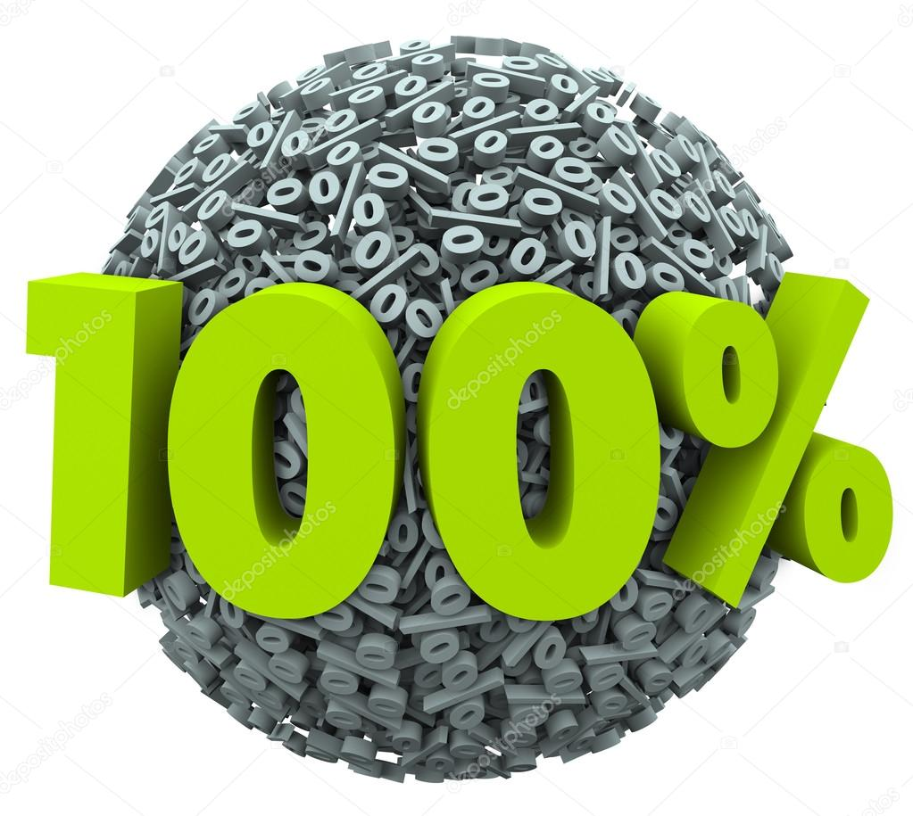 100 percent number and symbol on a ball of percentage signs stock 100 percent number and symbol on a ball of percentage signs to illustrate a complete or total job or goal achieved or a perfect score or rating photo by buycottarizona Image collections