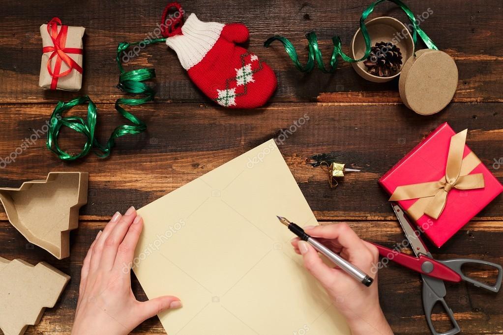 Christmas letter writing