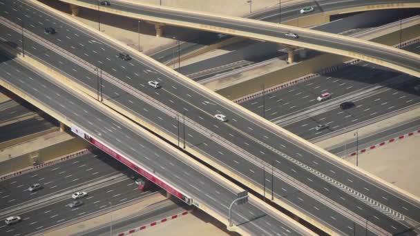Dubaj dálniční křižovatky