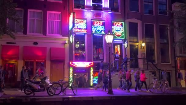 Red light district in Amsterdam