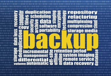 backup and data recovery