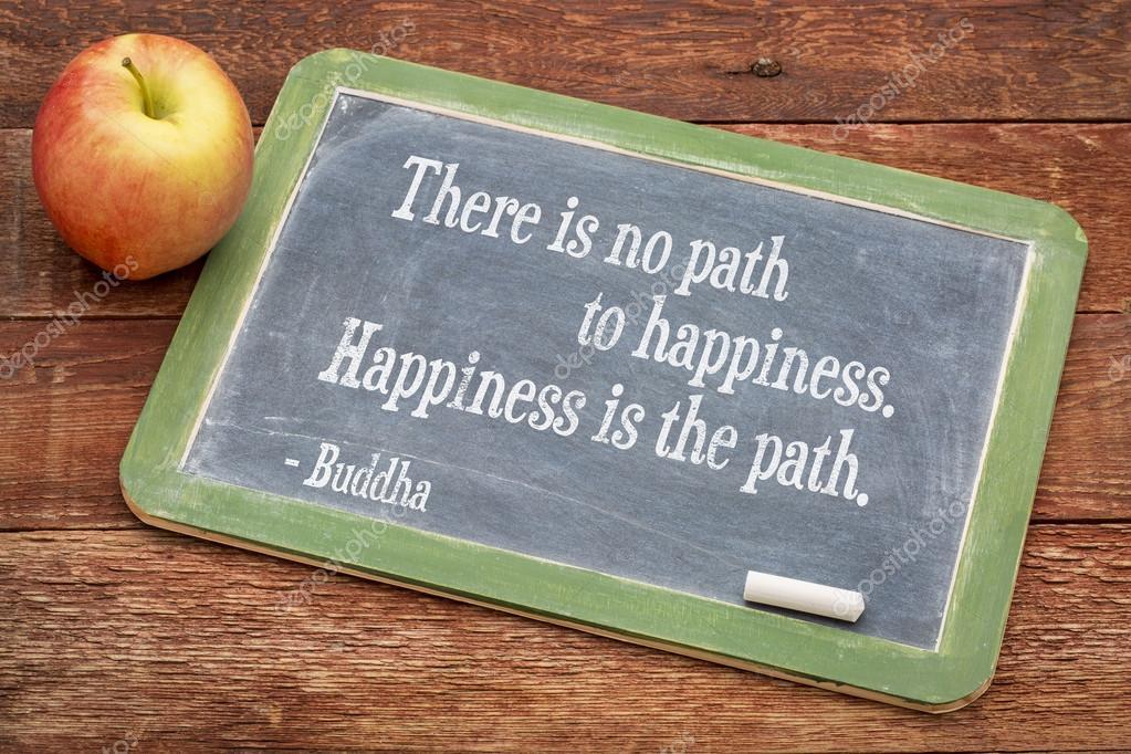 Citation De Bouddha Sur Le Bonheur Photographie Pixelsaway