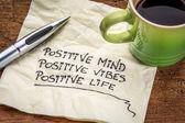 pozitivní mysl, vibrace a život