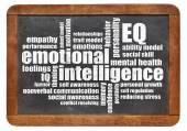 Photo emotional intelligence (EQ) word cloud