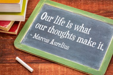 Marcus Aurelius on life and thoughts