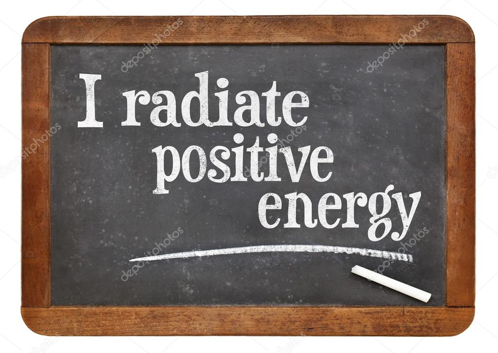 i radiate positive energy affirmation stock photo pixelsaway 80549936. Black Bedroom Furniture Sets. Home Design Ideas