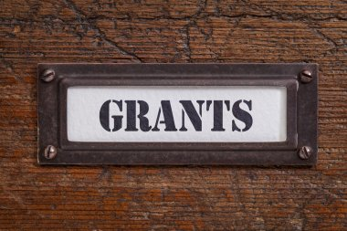 grants file cabinet label