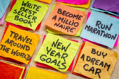 unrealistic new year resolutions