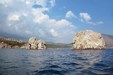 Adalary Rocks in the Black sea