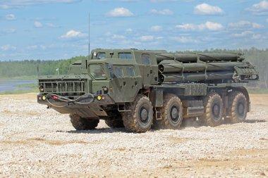 Rocket launcher BM-30 Smerch