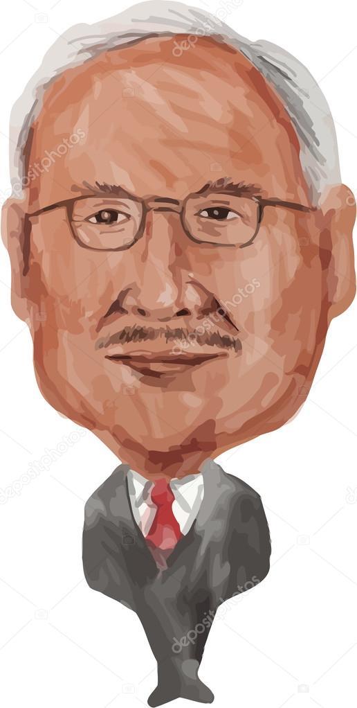 ナジブ ・ ラザク首相マレーシア...