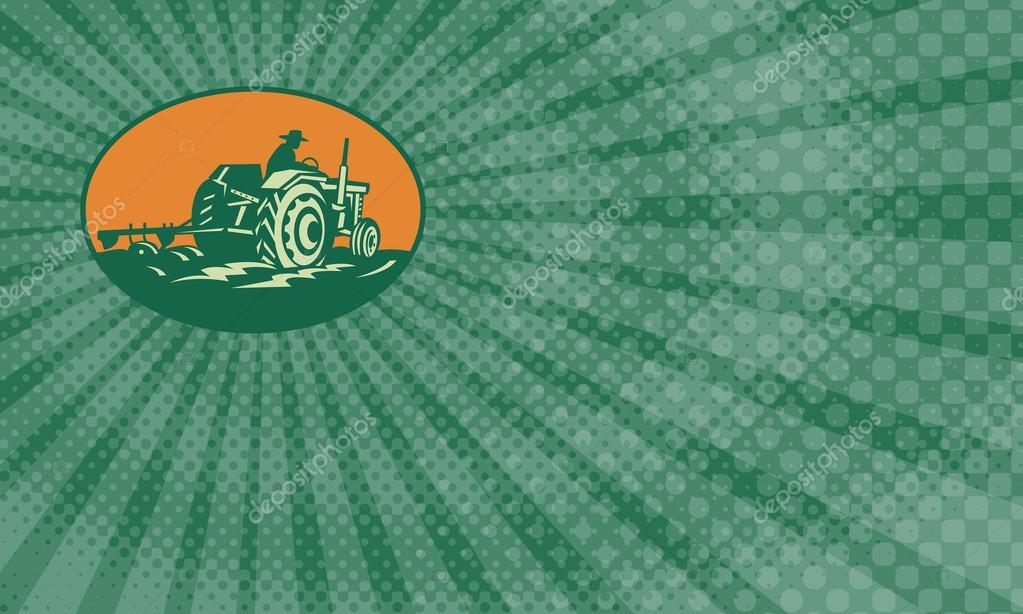 Organic Farm Business Card — Stock Photo © patrimonio #120732776