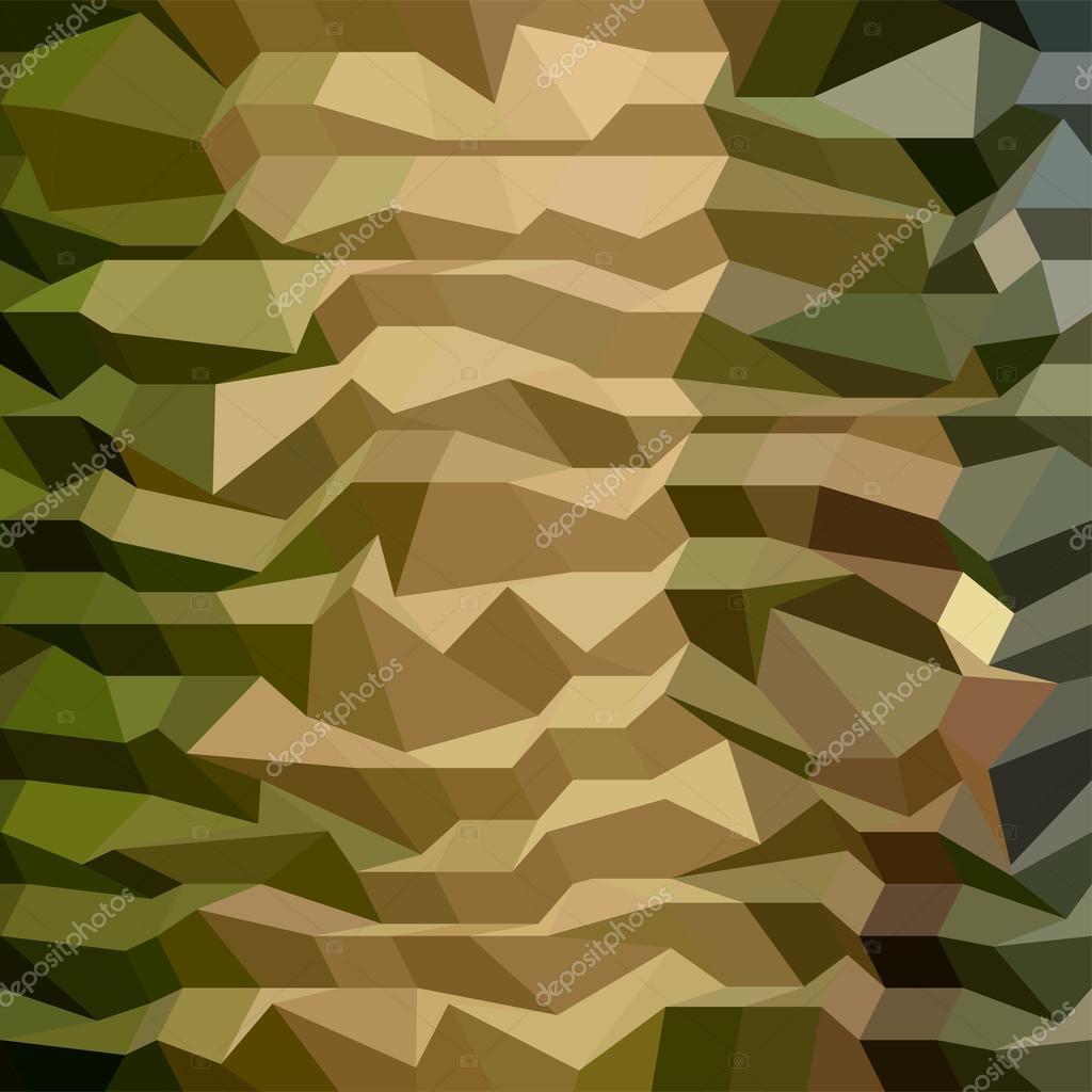 Fondo abstracto polígono bajo camuflaje — Vector de stock ...