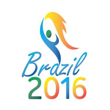 Brasil 2016 depicting the summer games