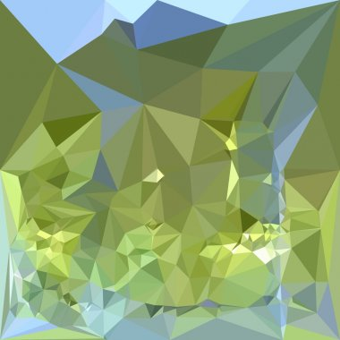 Limerick Green Low Polygon Background