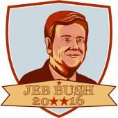 Jeb Bush President 2016 Shield