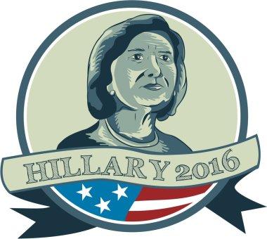Hillary Clinton President 2016 Circle