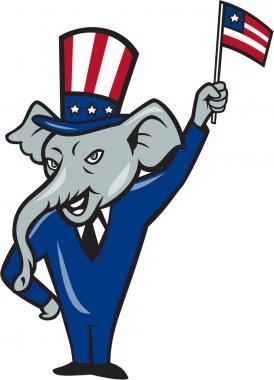 Republican Mascot Elephant