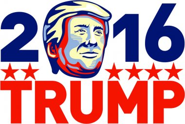 Donald Trump 2016 President Retro