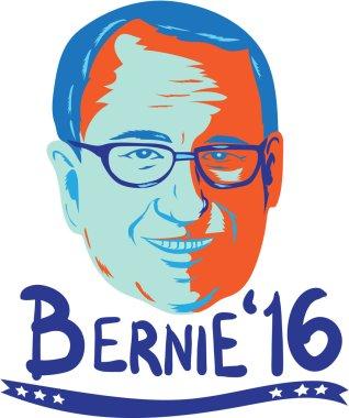 Bernie Sanders 2016 President Retro