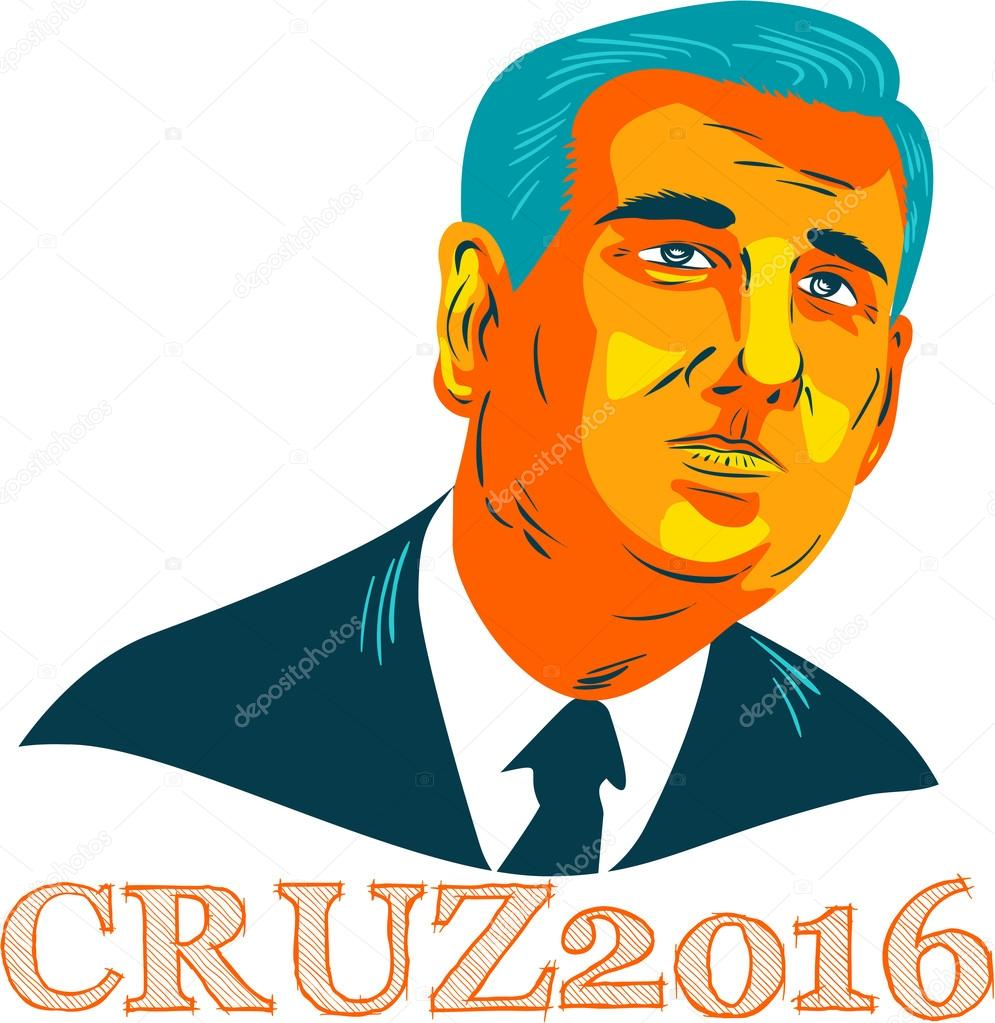 cruz president 2016 republican wpa stock editorial photo
