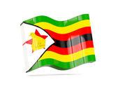 Hullám ikon zimbabwe zászlaja
