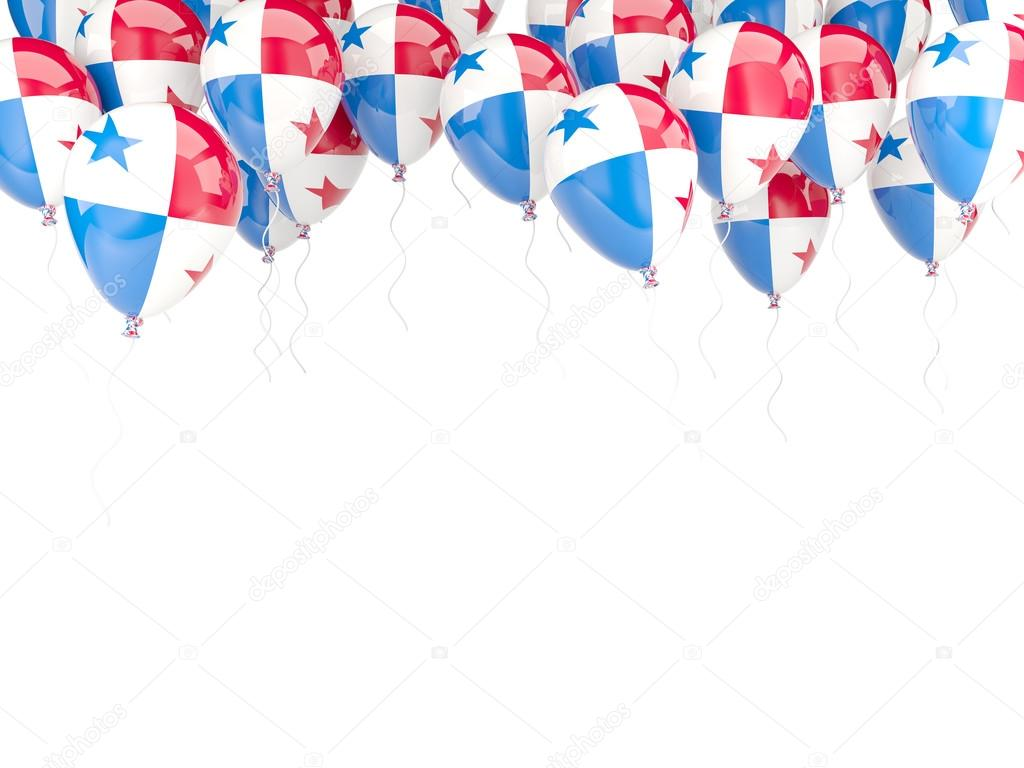 Marco de globo con la bandera de Panamá — Foto editorial de stock ...